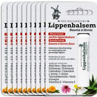 Lippenbalsem 10 verpakkingen