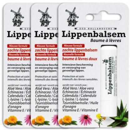 Lippenbalsem 3 verpakkingen