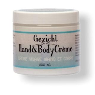 Gezicht, hand en bodycreme 200ml