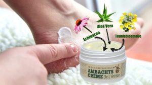voeten-amb-creme-met-3-bestanddelen